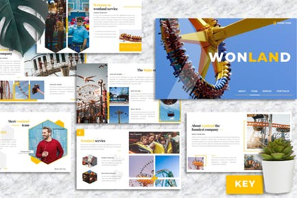 Wonland – Creative Business Keynote Template