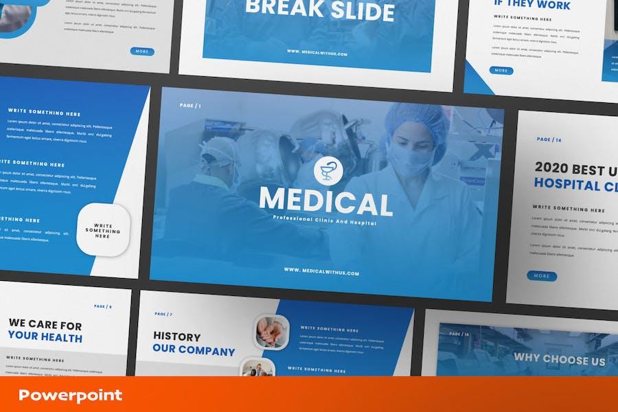 Шаблон медицинской презентации