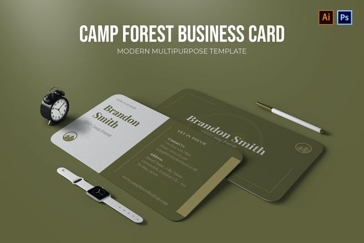 Thumbnail for Camp Forest - Business Card