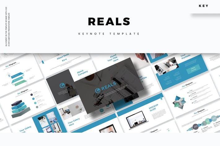 Reals - Keynote Template