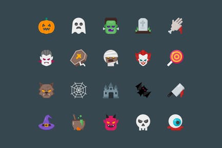 SVG Halloween Icon Pack