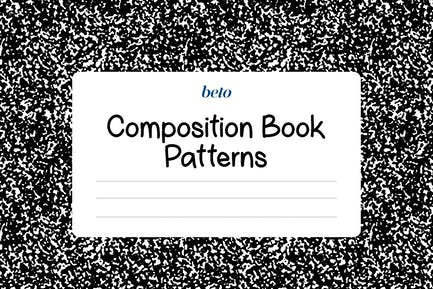 Composition Notebook Patterns