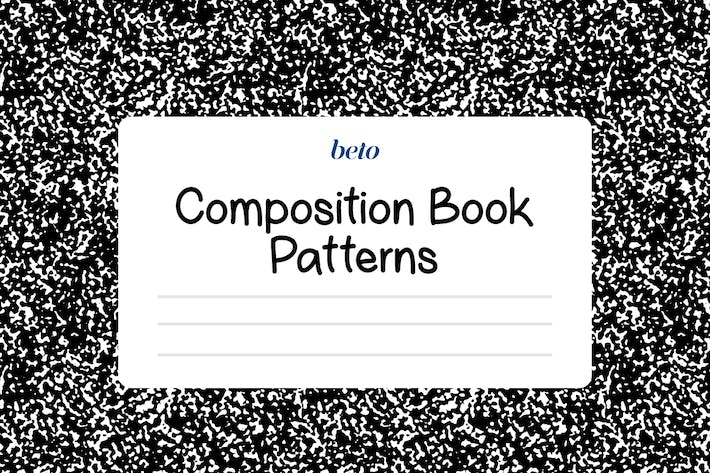 Thumbnail for Composition Notebook Patterns