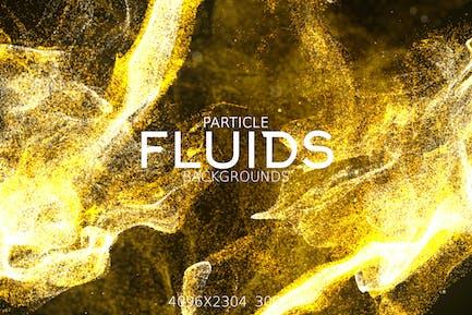 Particle Fluids Backgrounds