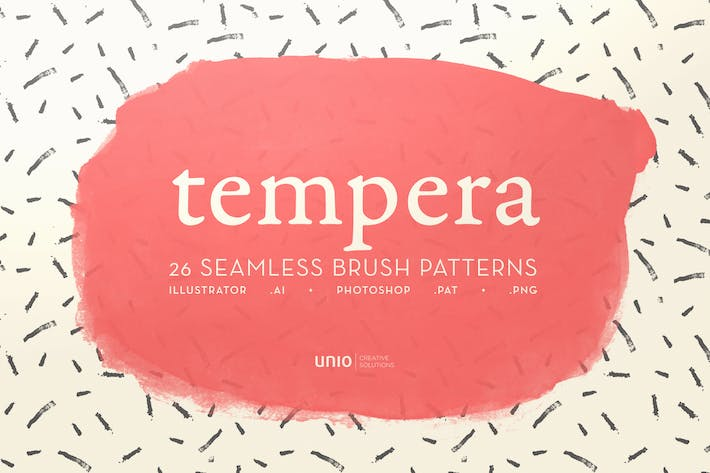 Thumbnail for Tempera Brush Patterns