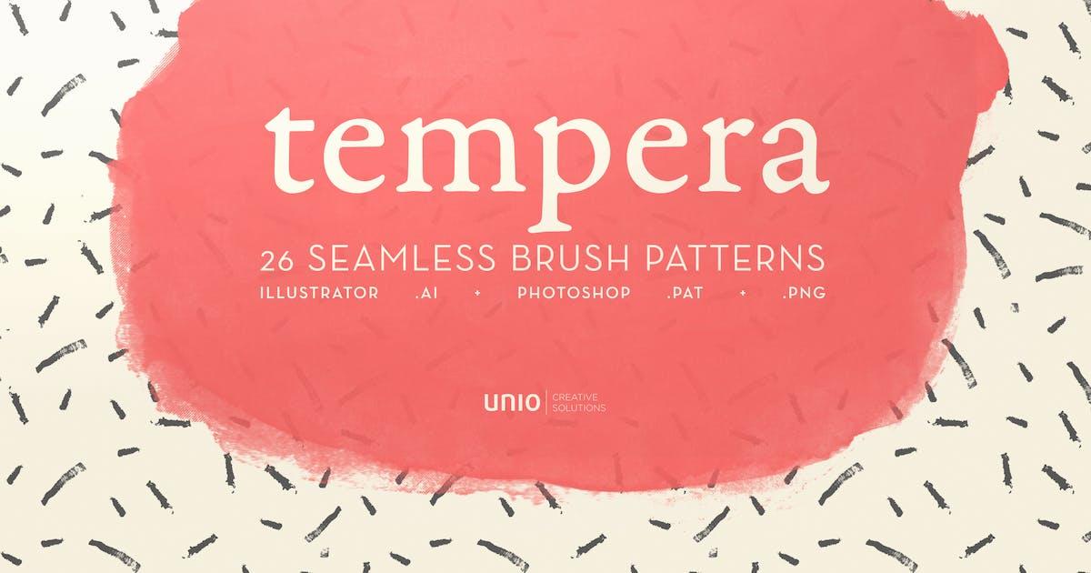 Tempera Brush Patterns by UnioCS