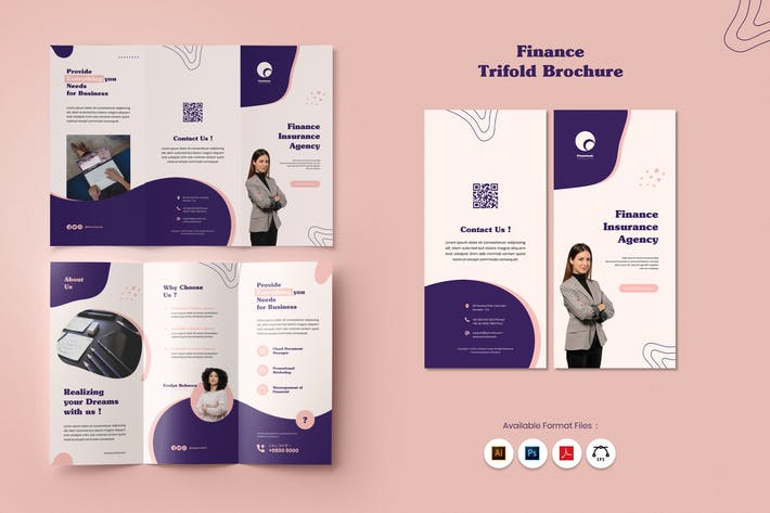 Thumbnail for Finance Trifold Brochure