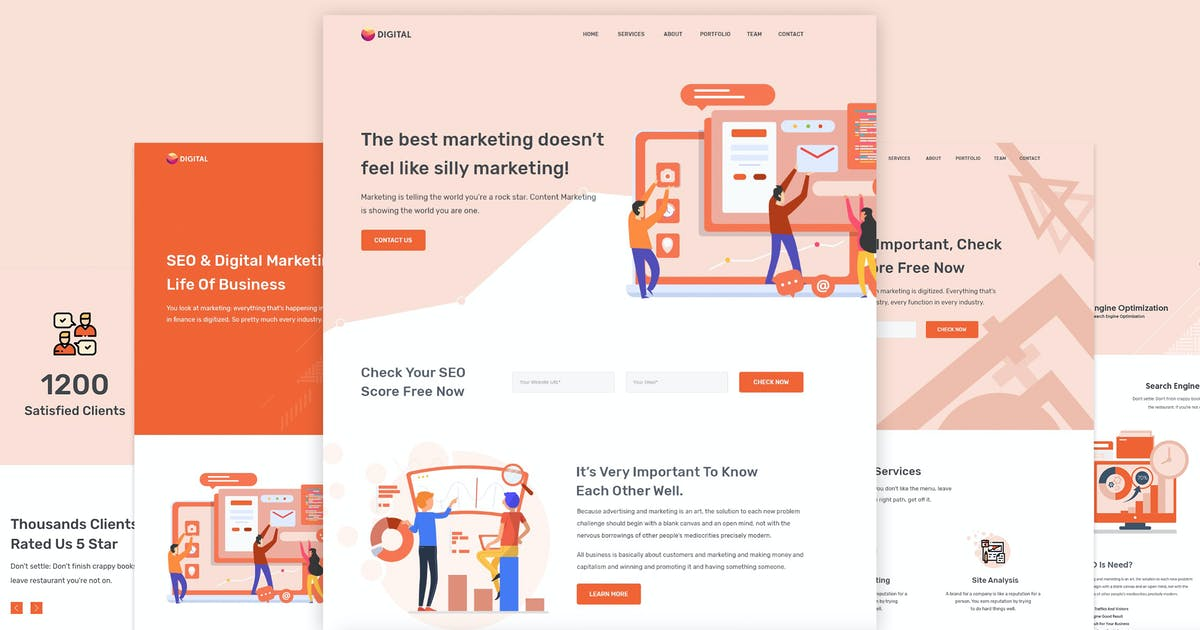 Digitax SEO & Digital Marketing Agency Themes por ovatheme