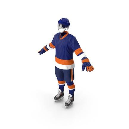 Eishockey Ausrüstung Blau