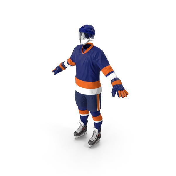 Hockey Equipment Blue