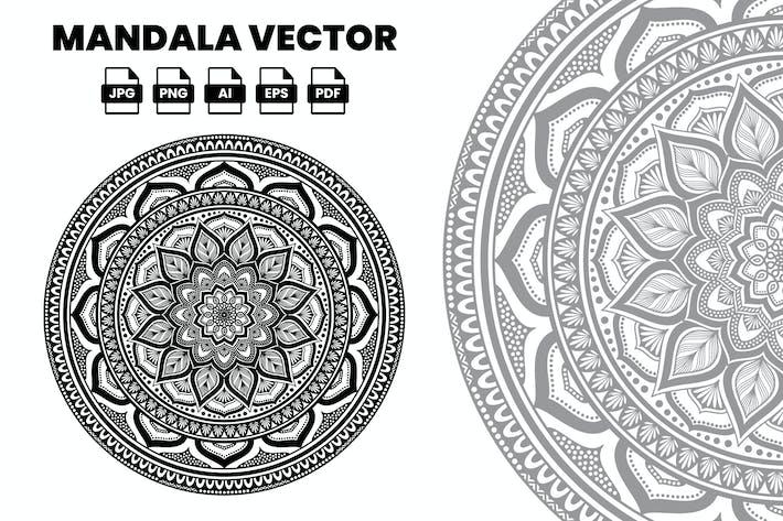 Thumbnail for Mandala Vector Illustration