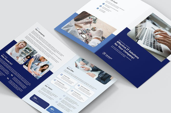 Thumbnail for Brochure – IT Services Bi-Fold