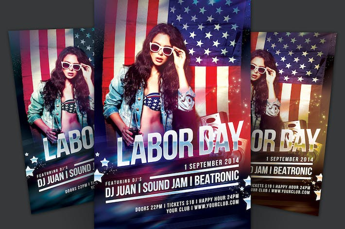 Thumbnail for Labor Day Flyer