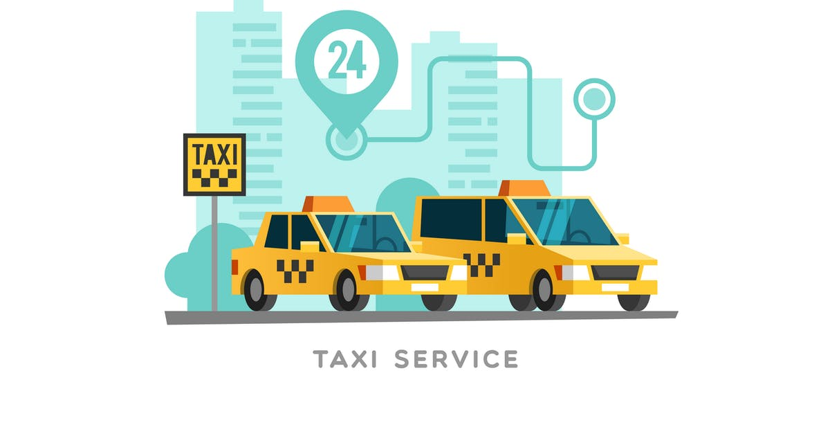 Download Taxi Service Concept by Faber14