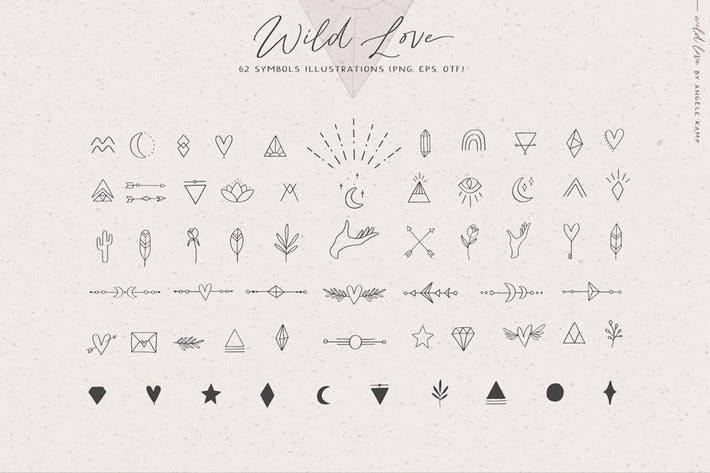 Thumbnail for Wild Love Symbols