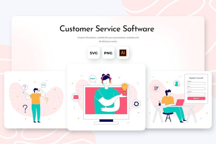 Thumbnail for Software für den Kundenservice