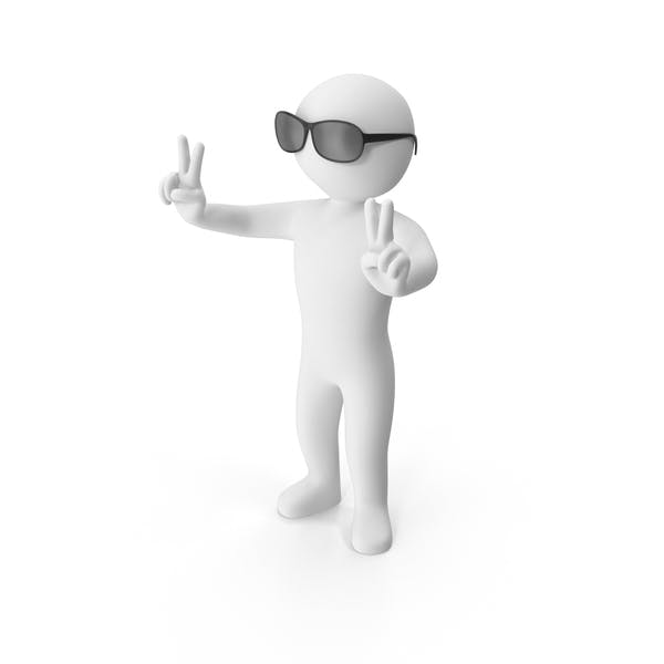 Thumbnail for Stickman Wearing Sunglasses