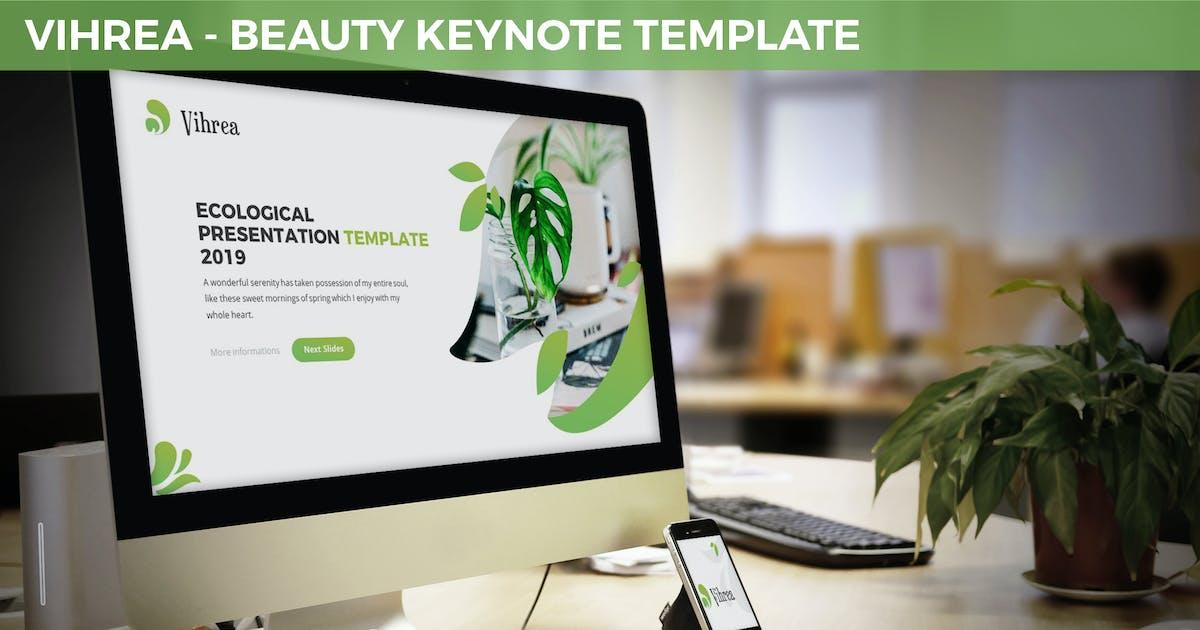 Download Vihrea - Beauty Keynote Template by SlideFactory