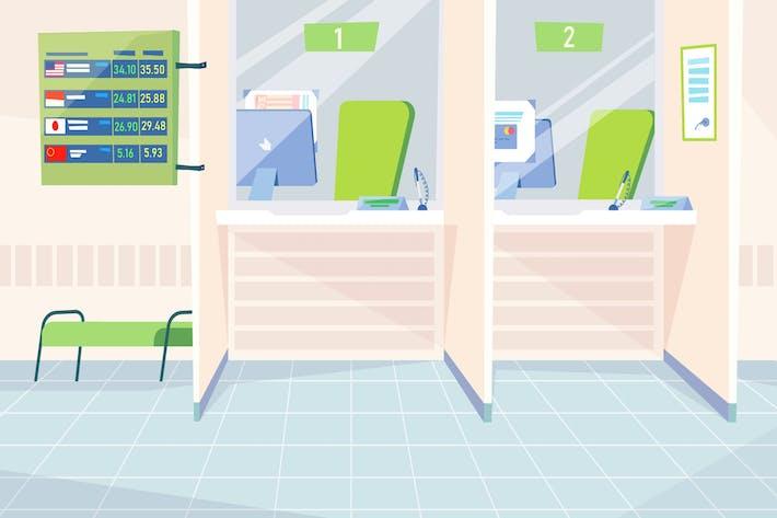 Thumbnail for Cash Desk - Illustration Background