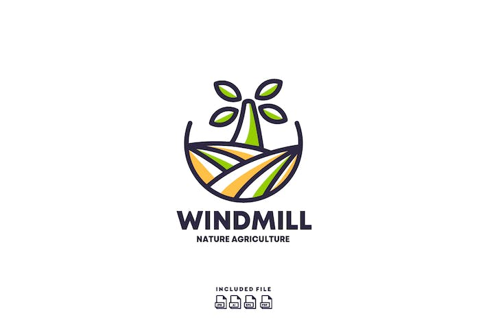 Thumbnail for Windmill Agriculture Logo Design