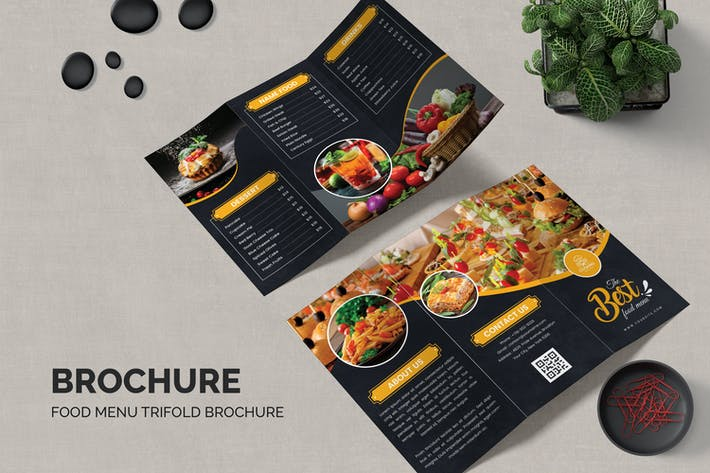 Food Trifold Brochure