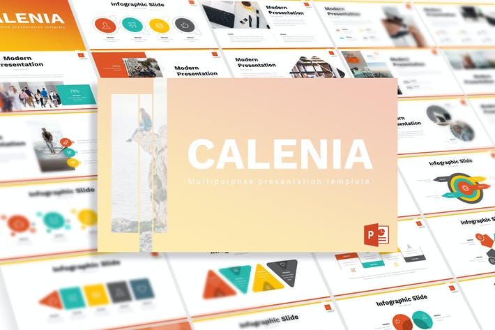 Thumbnail for Calenia - Powerpoint Template
