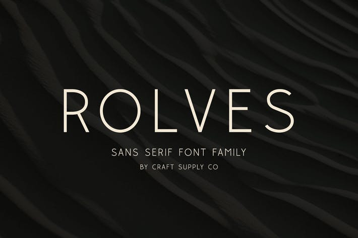 Thumbnail for Rolves - Sans Serif Font Family | 8 Fonts