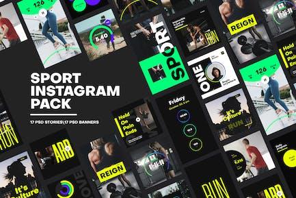 Sport Instagram Pack