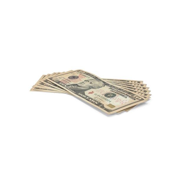 10 Dollar Bills