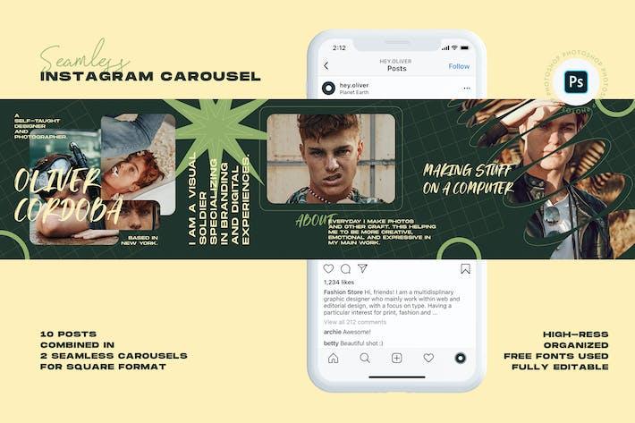 Thumbnail for Resume Instagram Carousel