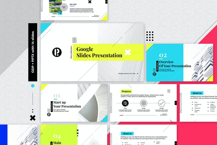 Thumbnail for Creative Google Slides Presentation Template