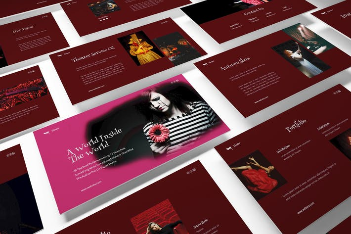 Thumbnail for Theater Powerpoint Template