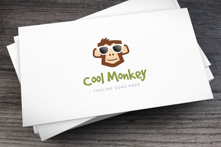 Cover Image For Cool Monkey Logo Template