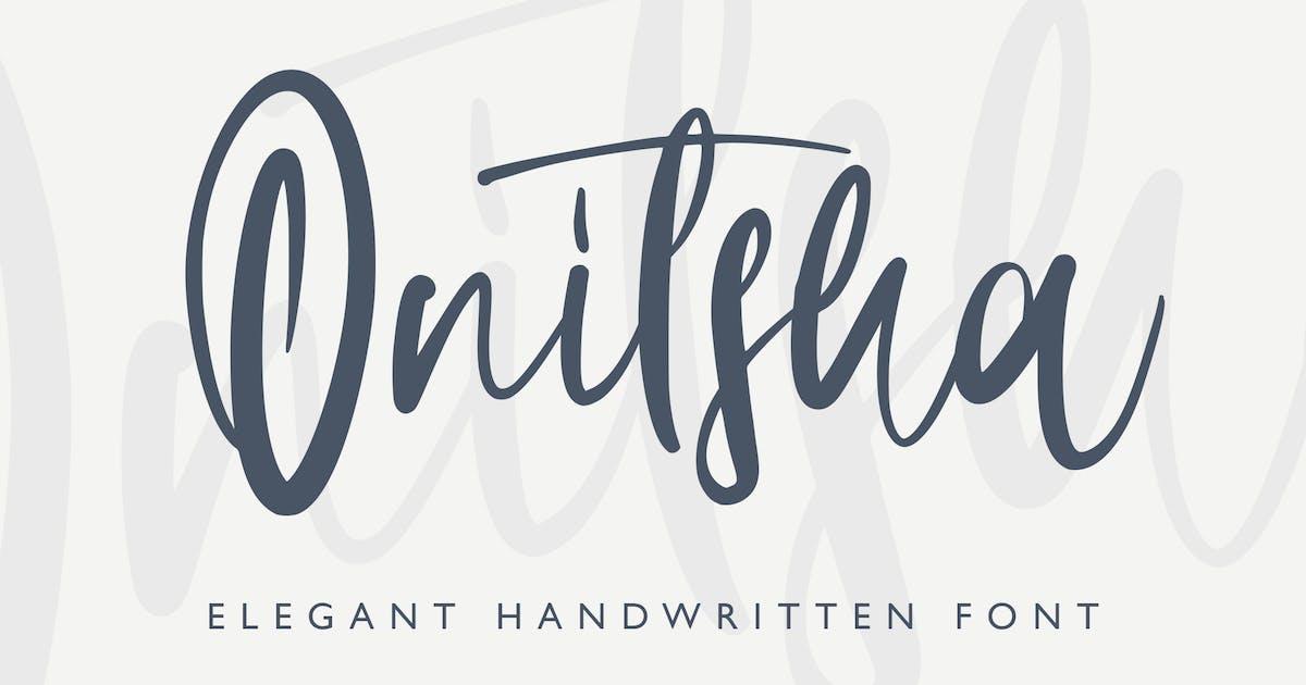 Download Onitsha Handwritten Script by arendxstudio