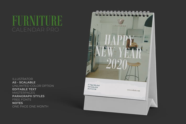 Thumbnail for 2020 Furniture / Interior Calendar Pro