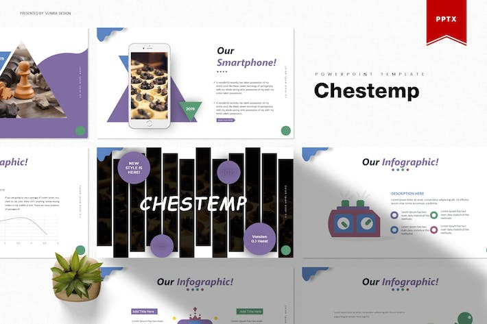 Thumbnail for Chestemp | Powerpoint Template