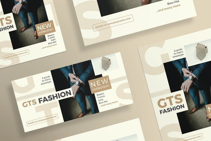 Thumbnail for Fashion Clothes Flyer and Poster Template