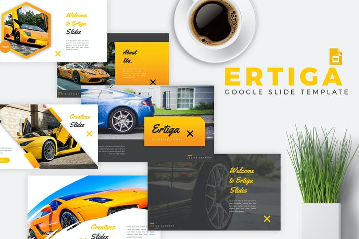 ERTIGA - Sport Car Google Slides Template