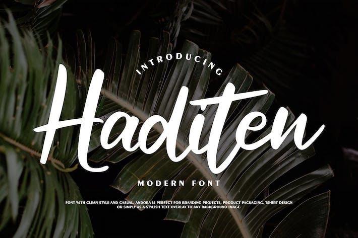 Thumbnail for Haditen Modern Font