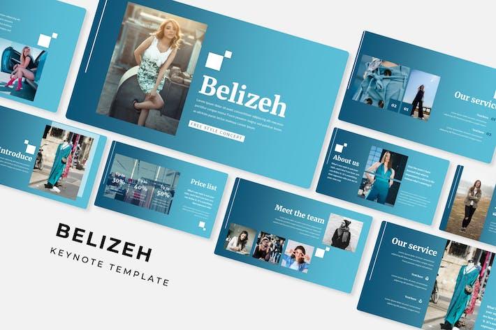 Belizeh - Keynote Template