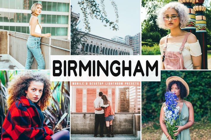 Thumbnail for Birmingham Mobile & Desktop Lightroom Presets