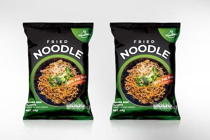 Noodle Packaging Template - V2