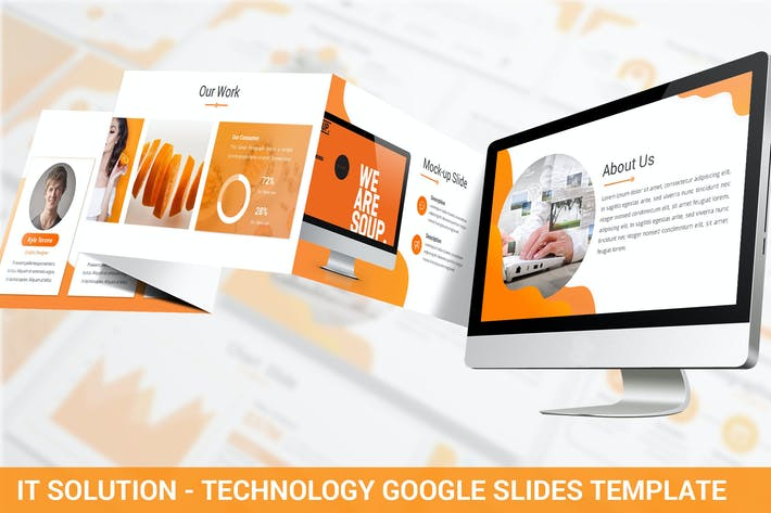 Thumbnail for IT Solution - Technology Google Slides Template