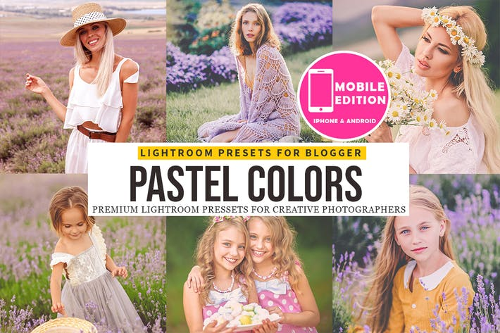 Thumbnail for Pastel Lightroom Presets