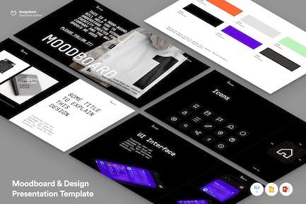 Презентация Moodboard & Design