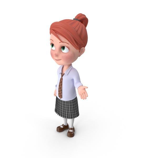 Мультфильм девушка Грейс Роллинг глаза