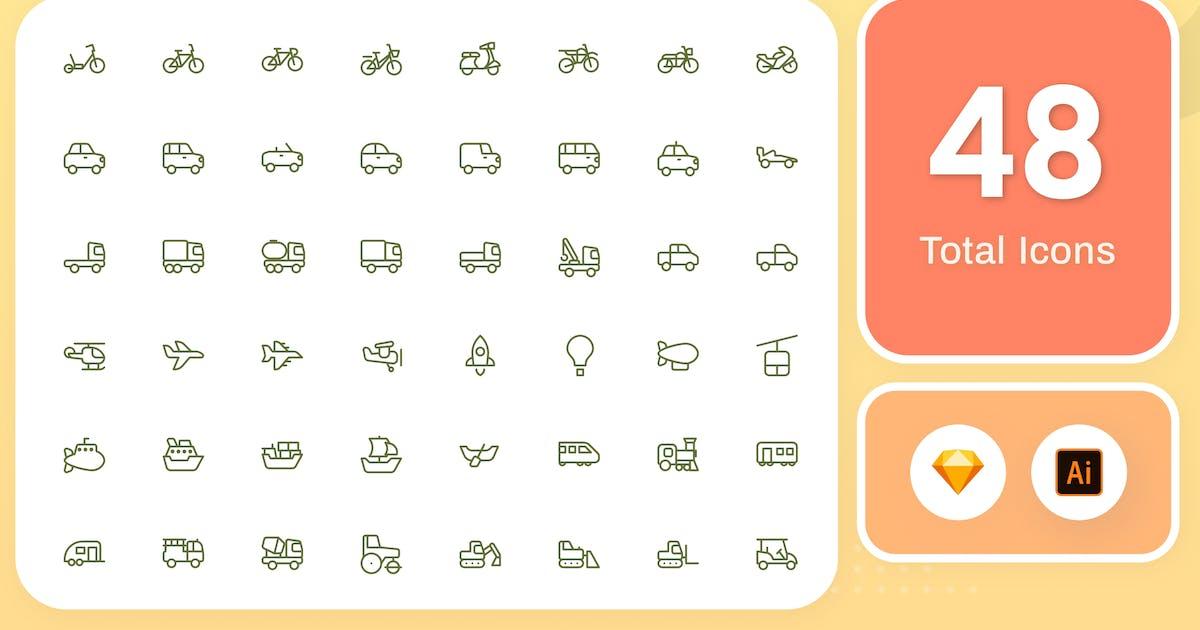 Download Line Senja - Transportation by sudutlancip