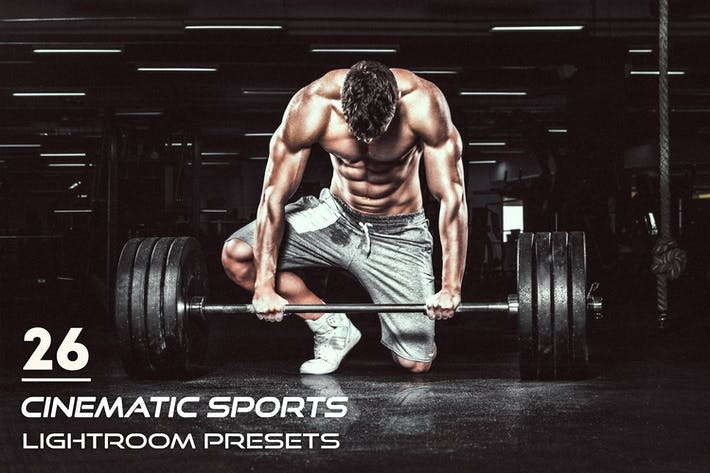 Cover Image For 26 Cinematic Sports Lightroom Presets