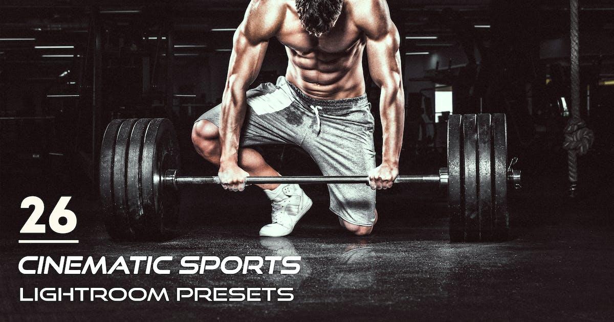 Download 26 Cinematic Sports Lightroom Presets by Eldamar_Studio