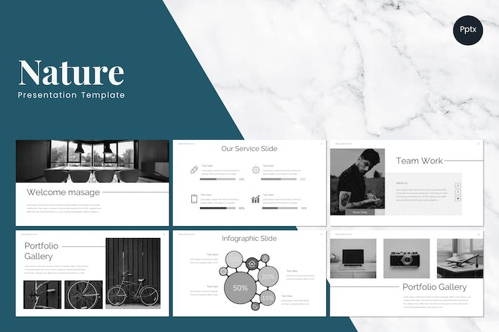 Thumbnail for Nature - Powerpoint Template